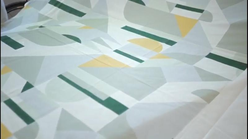 Печать на ткани для коллекции