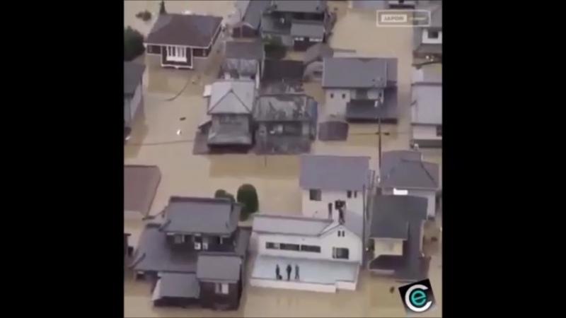 Climat : Japon inondations catastrophiques dans le sud de l'archipel