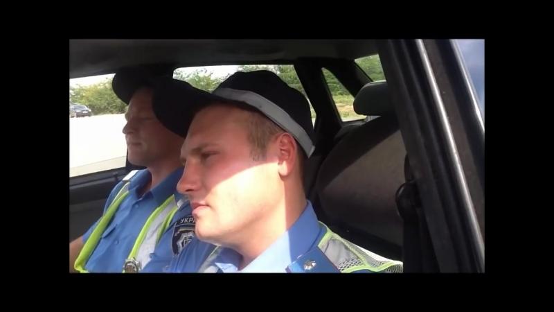 Полицай-даун сбил человека