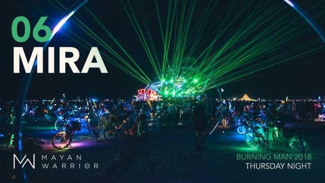 Mira - Mayan Warrior - Burning Man 2018