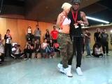 Albir &amp Carola Hip Hop kizomba @ AfroFever'15 Kizomba