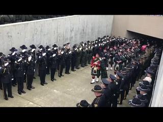 Police officer Natalie Corona Memorial Service