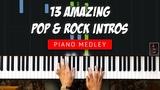 13 Amazing POP &amp ROCK Piano Intros Medley by ILya Heifetz