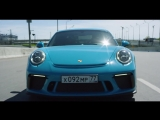 DT Test Drive - Porsche GT3 и Ferrari 458 Italia. Атмосферные 9000 об/мин