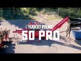 Hakki Pilke 50 Pro - Firewood Processor for heavy-duty operations