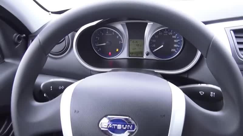 2014 Datsun on-Do. Access. Обзор (интерьер, экстерьер, двигатель)