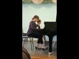 В.А.Моцарт Концерт фортепиано с оркестром 2 частьИсполнительКоваль ВикторияКонцертмейстер Абакумова Т.А.