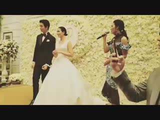Пуш и Тжуй режут свадебный торт!