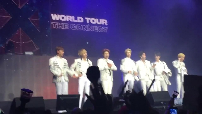 [Fancam][20.06.2018] The 2nd World Tour The Connect In Amsterdam (Talk time)