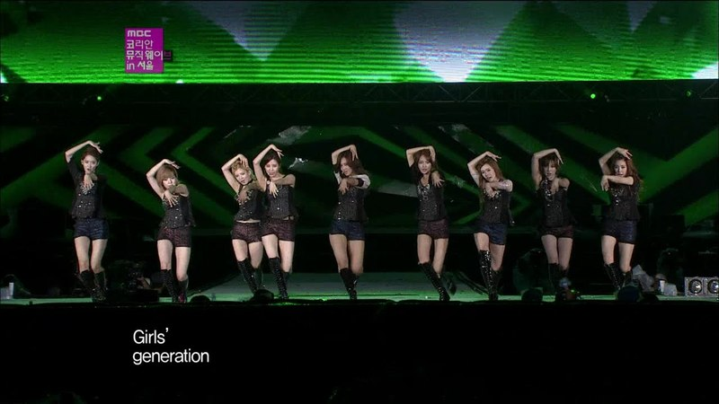 SNSD - The Boys (MBC SMTown in Seoul/12.10.01])