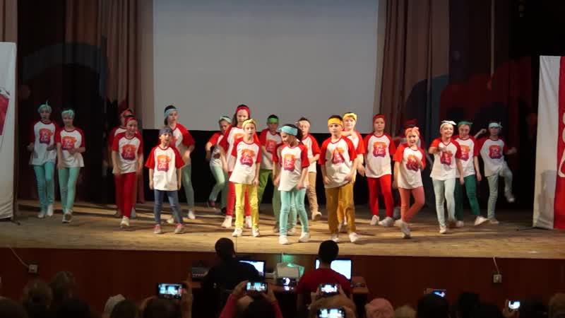 Танцевальная группа You can младшая группа