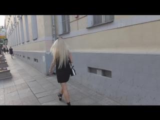 [Псв 10] Пешая прогулка по улице Большой Дмитровке днём пешком в Москве от страсного бульвара влог на ул. Б.Дмитровка VLOG