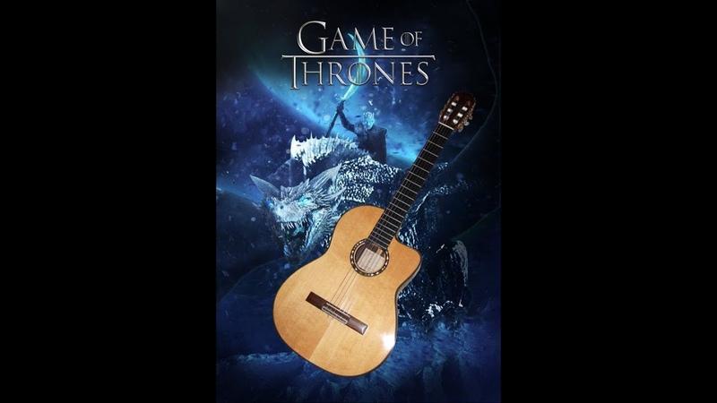 Game of Thrones Main Title on Classical Guitar - Игра престолов на гитаре