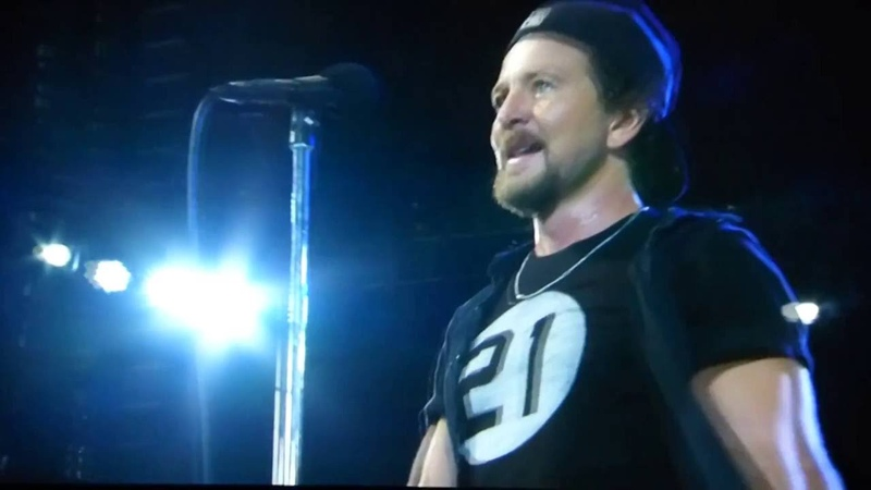 Pearl Jam - Baba ORiley - Fenway Park (August 5, 2016)