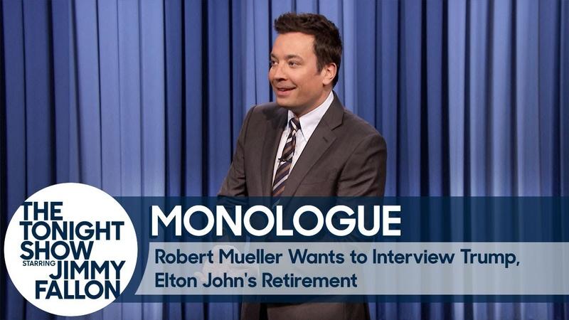 Robert Mueller Wants to Interview Trump, Elton John's Retirement