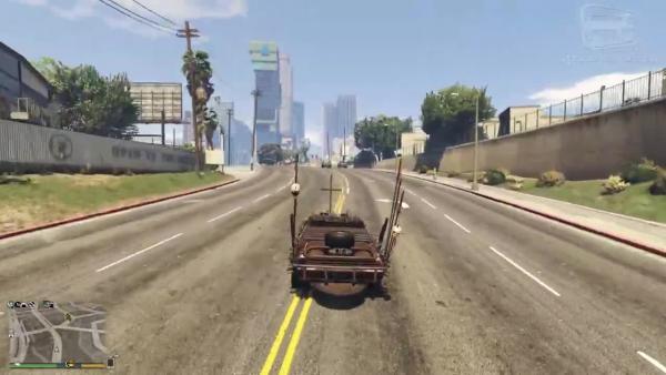 Grand Theft Auto Online Обзор Vapid Imperator