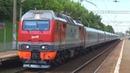 Приветливая бригада на ЭП2К-348 с фирменным поездом №1 Москва - Волгоград:-)