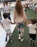 """Shakira on Instagram: """"La gallina y sus pollitos llegando al estadio de Estambul donde estaré cantando esta noche! Arriving to the venue in Istanbu"""