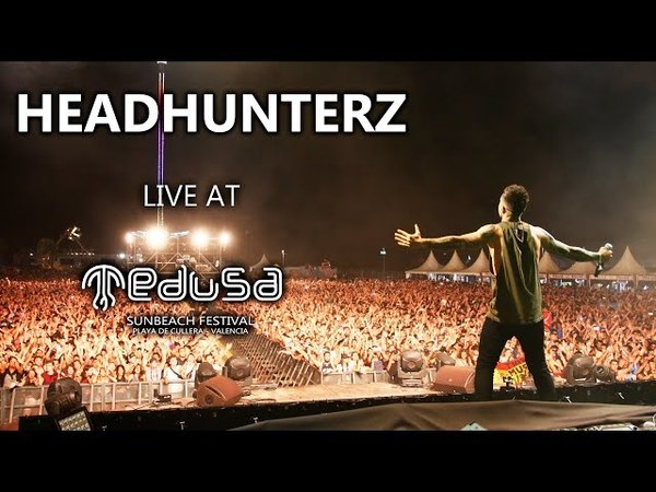 Headhunterz - Live At Medusa Sunbeach Festival 2017