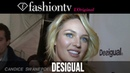 Desigual Fall/Winter 2014-15 Backstage ft Candice Swanepoel New York Fashion Week NYFW FashionTV