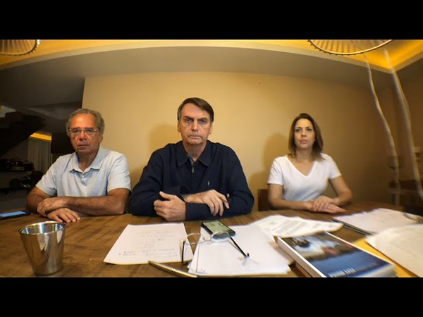 Pronunciamento de Bolsonaro após resultado das eleições - 07/10/2018