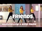 Friends - Marshmello &amp Anne Marie (Hbz Bounce Remix) Combat Fitness Dance Choreography - Baile