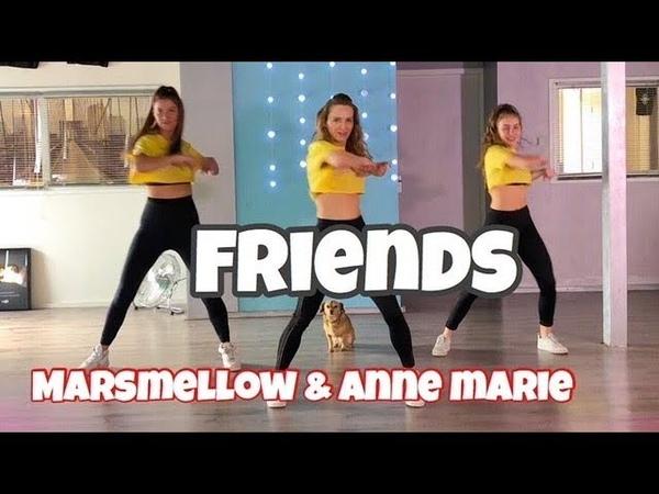 Friends - Marshmello Anne Marie (Hbz Bounce Remix) Combat Fitness Dance Choreography - Baile