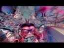 Скольжение среди эластичного мира фрактальная анимация