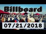 Billboard Dance Club Songs TOP 50 (July 21, 2018)