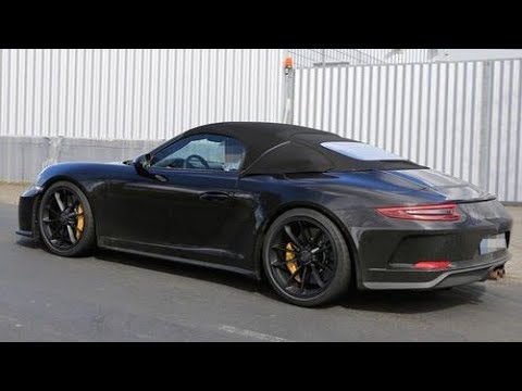 New Porsche 911 Speedster (2019)