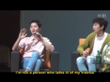 Eng Song Joong Ki- Seoul FM fan-meeting