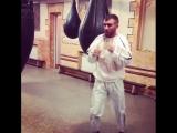 Василий Ломаченко начал свою подготовку к следующему бою после травмы.