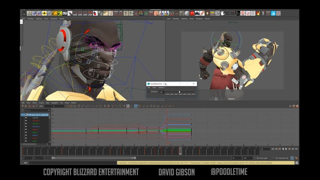 Animating Doomfist's Hero Select - David Gibson @Poodletime