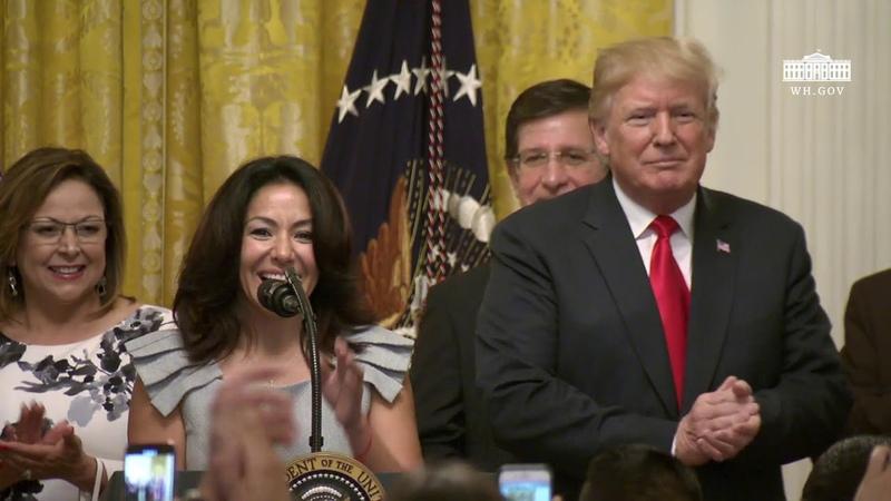 President Trump Hosts the Hispanic Heritage Month Celebration