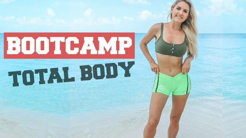 TOTAL BODY BOOTCAMP - Sculpting Toning Workout | Rebecca Louise