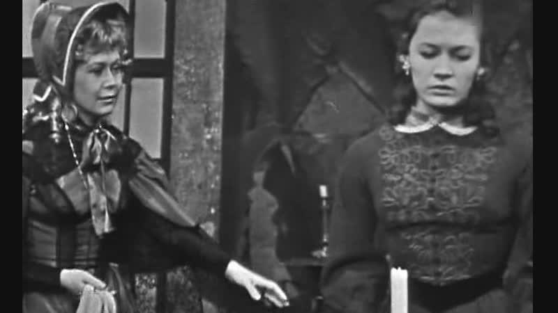 Светлана Немоляева и Галина Яцкина в телеспектакле Павла Резникова Что делать? (Страницы романа) (1971)