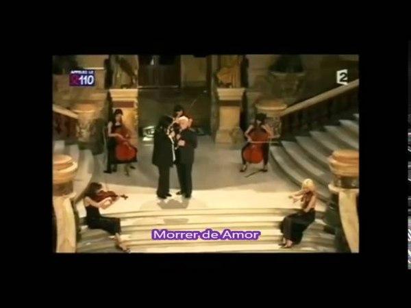 Nana Mouskouri Charles Aznavour Duo Mourir d'Aimer Legendas César Salgueiro