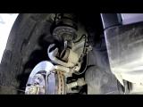 Ниссан Х Трейл Т31 (Nissan X-Trail) замена передних тормозных колодок