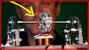 Получение свободной энергии из вечного двигателя работающего на магнитном поле