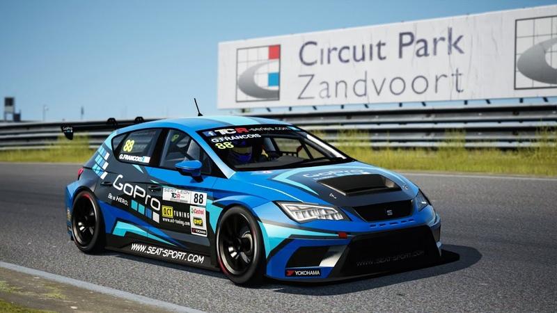Assetto Corsa - Seat Leon TCR - Zandvoort - Online Race (SRS)