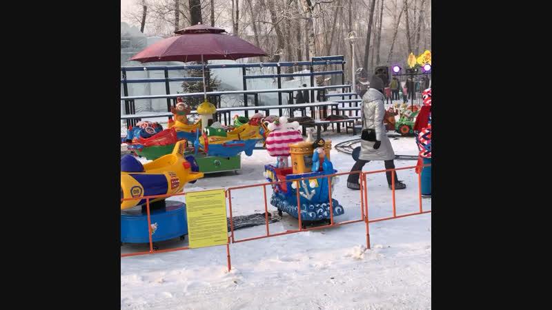 НовыйГод2019 Черногорский Парк Абакан,02-01.2019