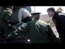 Передача тела погибшего украинского диверсанта