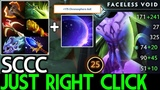 SCCC Faceless Void Just need Right Click Full Item 7.20 Dota 2