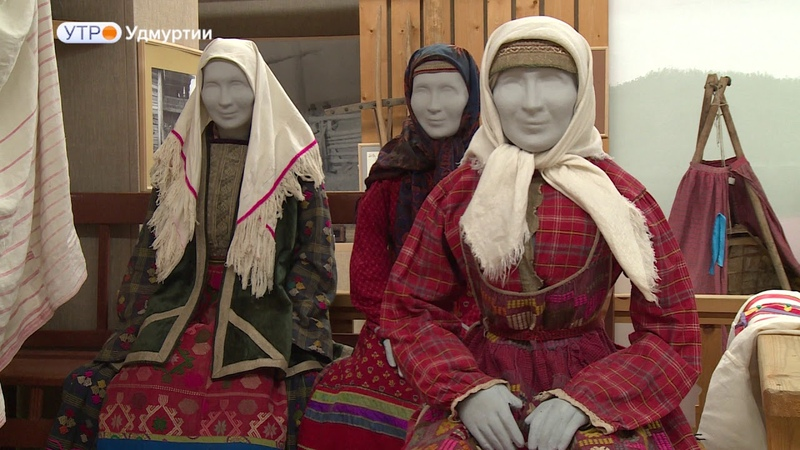 Технику старинных вышивок освоила реставратор в Ижевске