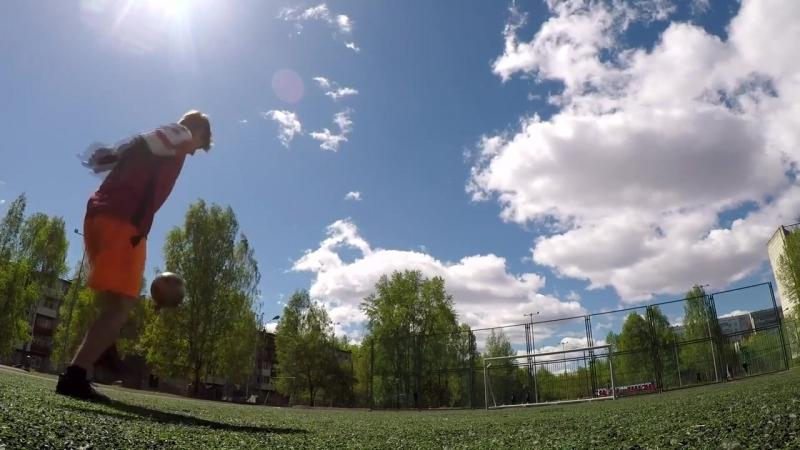 Пермские футбольные фристайлеры