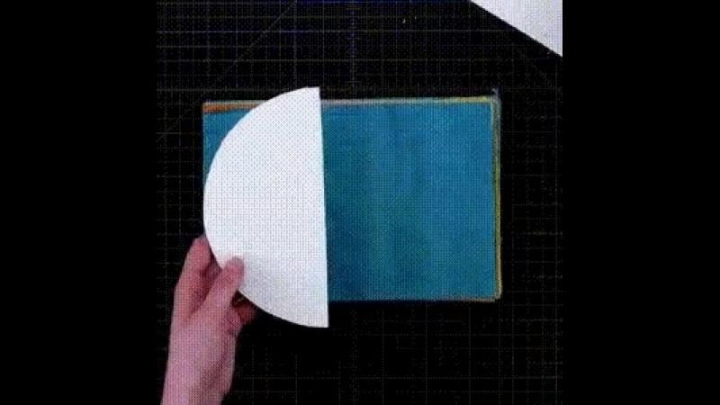 Шар из гофрированной бумаги