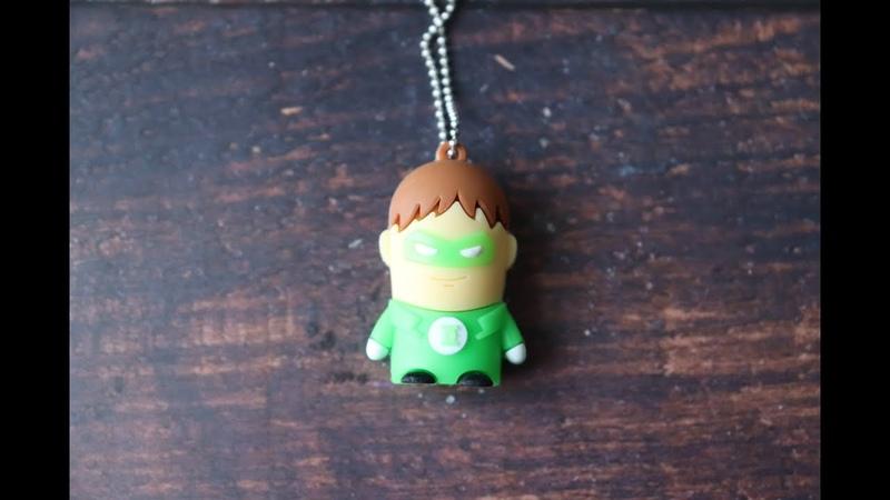 USB флешка Apacer - Зелёный Фонарь (Marvel)