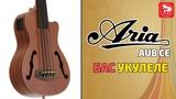 ARIA AUB-CE/FL Безладовое бас-укулеле - редкий музыкальный инструмент
