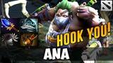 ANA PUDGE Highlights [HOOK YOU!] Dota 2
