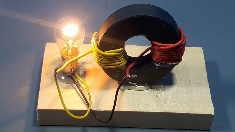 How to make Free Energy Generator Magnet Coil 100 Real | science projects